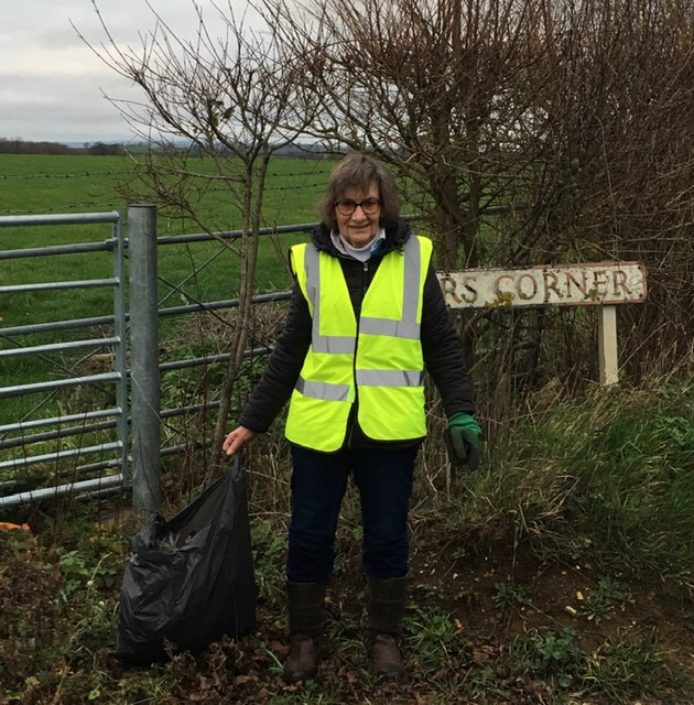 Sturminster Newton-Pauline is bugged by people who litter