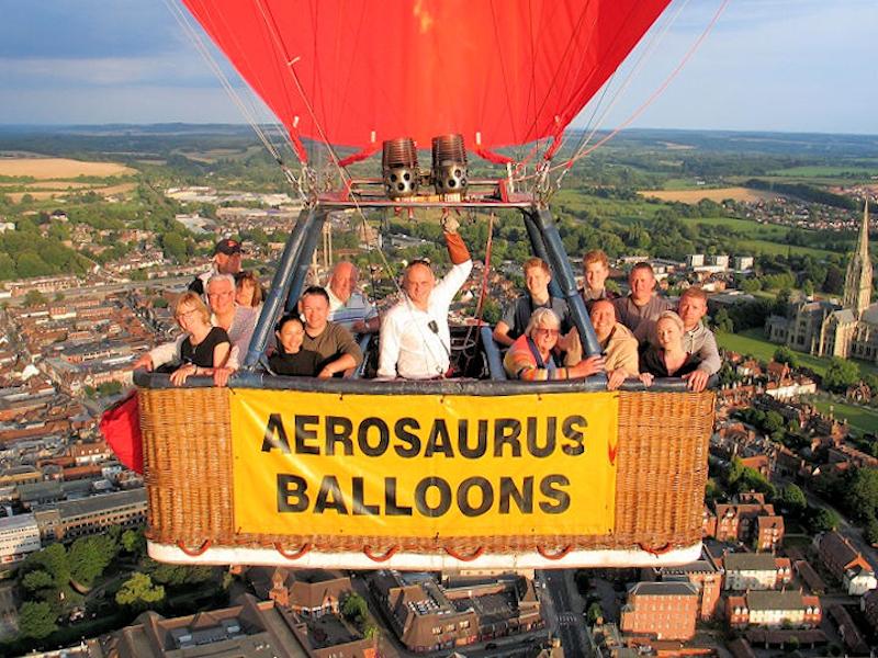 Sturminster Newton-Aerosaurus Balloons 2